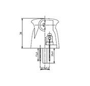 非防水プラグ3P1形U種B形