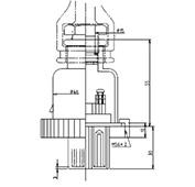 防水プラグ3P1-AM形(ABS)