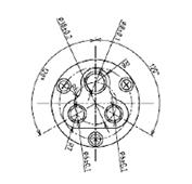 防水プラグ3P1-A形(BS)