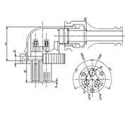 防水プラグ3P1-BM形(ABS)