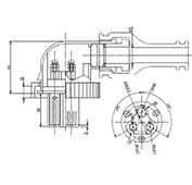防水プラグ3P1-BM形(PBT)