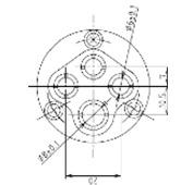 防水プラグ4P1-A形(BS)