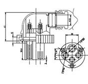 防水プラグ4P1-BM形(ABS)