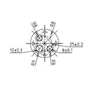 防水プラグ3P2-A形(BS)