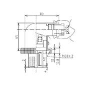 防水プラグ3P2-B形(BS)