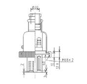 防水プラグ4P2-AM形(PBT)