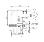 防水プラグ4P2-B形(BS)